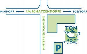 Standort Töpferei Tonart Schätzendorf